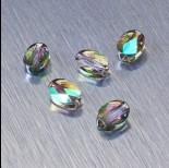 Zdjęcie - 5051 Swarovski mini oval bead 8x6mm Paradise Shine