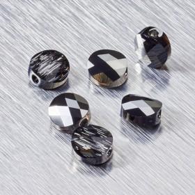 Zdjęcie - 5052 Swarovski mini round bead 8mm Crystal Silver Night