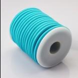 Zdjęcie - Tuba kauczukowa w oplocie 5mm błękitna