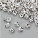 Zdjęcie - Przekładka rondelek z kryształkami crystal 5mm