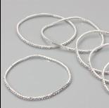 Zdjęcie - Bransoletka z kryształkami crystal 18-21cm
