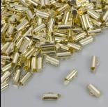 Zdjęcie - Końcówki w kolorze złotym do płaskich bransoletek 9.5x4mm