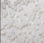 Zdjęcie - 5328 bicone bead white opal 4mm