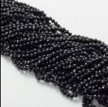 Zdjęcie - Czarny spinel kulka fasetowana czarna 4mm