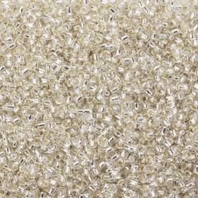 Zdjęcie - Koraliki Matsuno round Silver Lined Crystal 12/0