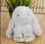 Zdjęcie - Zawieszka króliczek biały 18cm