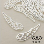 Zdjęcie - Zawieszka anielskie skrzydło ażurowe 60x19.5mm