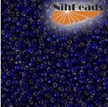 Zdjęcie - Koraliki NihBeads 12/0 Silver-Lined Cobalt