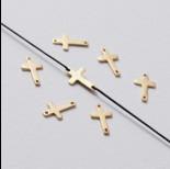 Zdjęcie - Rozgałęźnik mini krzyżyk ag925 złoty