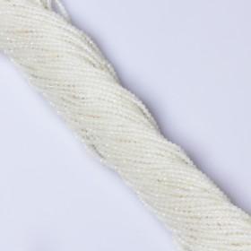 Zdjęcie - Opal biały kulka fasetowana 2.5mm