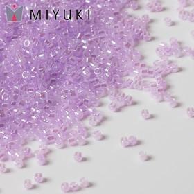 Zdjęcie - Koraliki Miyuki Delica 11/0 Lined Crystal/Pale Lilac