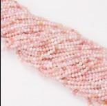 Zdjęcie - Opal różowy kulka fasetowana 3mm