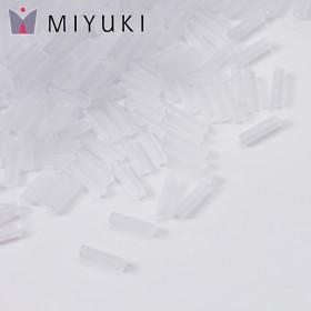 Zdjęcie - Koraliki Miyuki Bugles #2 6 mm Crystal Matted