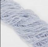Zdjęcie - Agat blue lace kulka fasetowana 3mm niebieski