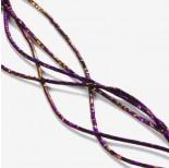 Zdjęcie - Hematyt przekładka wielokąt platerowana fioletowa 2x1mm