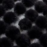 Zdjęcie - Pompon czarny 4cm