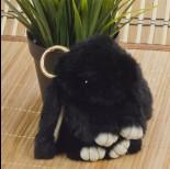Zdjęcie - Zawieszka króliczek czarny 15cm