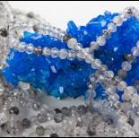 Zdjęcie - Kryształ górski z rutylem oponka fasetowana 5x3mm