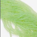 Zdjęcie - Koraliki szklane pistacjowe 4mm