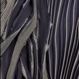 Zdjęcie - Wstążka Shibori grey and black stormy cloud 2cm
