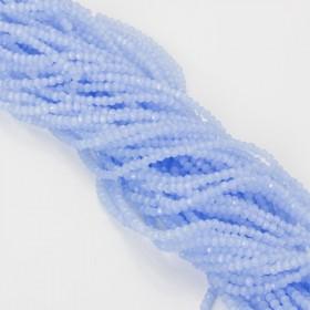 Zdjęcie - Kryształki kulki fasetowane 2mm ice blue