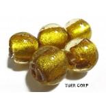 Zdjęcie - Szkło weneckie kulka złota 14mm