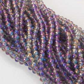 Zdjęcie - Kryształki kulki fasetowane 6mm mistic violet