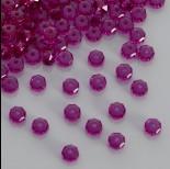 Zdjęcie - Swarovski rondelle bead fuchsia 6mm