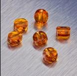 Zdjęcie - 5052 Swarovski mini round bead 6mm Tangerine