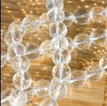 Zdjęcie - Kryształ górski kulka fasetowana przeźroczysta 10mm