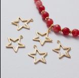 Zdjęcie - Zawieszka gwiazda wycięta ag925 złoty