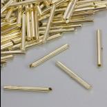 Zdjęcie - Końcówki w kolorze złotym do płaskich bransoletek 40.5x4mm
