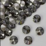 Zdjęcie - Swarovski rivoli stone black diamond 8mm