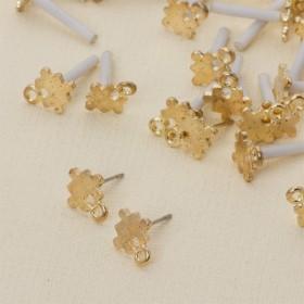 Zdjęcie - Kolczyki puzzle z oczkiem 11 mm