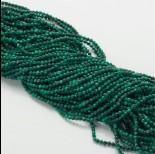 Zdjęcie - Malachit naturalny kulka fasetowana zielona 2mm