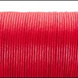 Zdjęcie - Sznurek bawełniany woskowany arbuzowy 1,5mm