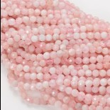 Zdjęcie - Morganit różowy kulka fasetowana 5mm