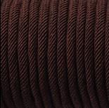 Zdjęcie - Sznurek pleciony 5mm brązowy