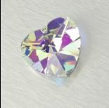 Zdjęcie - 2718 heart, crystal AB 40mm