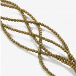 Zdjęcie - Hematyt platerowany wielokąt matowy złoty 3x3mm