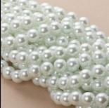 Zdjęcie - Perły szklane białe 10mm