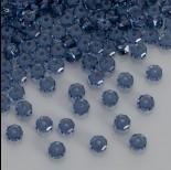 Zdjęcie - Swarovski rondelle bead denim blue 6mm