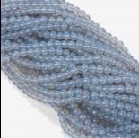 Zdjęcie - Koraliki szklane modre 6mm