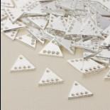 Zdjęcie - Baza z dziurkami trójkąt 13x15 mm
