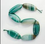 Zdjęcie - Agat owal polerowany zielony 56.5x25mm