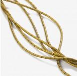 Zdjęcie - Hematyt platerowany walec matowy złoty 4x2mm