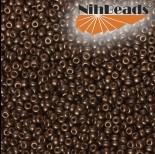 Zdjęcie - Koraliki NihBeads 12/0 Metallic Frosted Brown