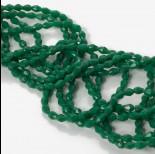 Zdjęcie - Kryształki drop bead full green 4x6mm