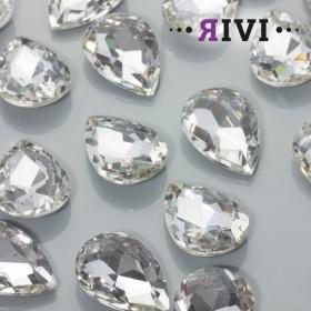 Zdjęcie - Kaboszon kryształowy crystal 18x25mm