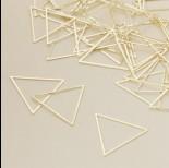 Zdjęcie - Baza metalowa trójkąt 27x31mm